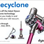 Recycle Your Old Vacuum Cleaner with Dyson's Recylone Program