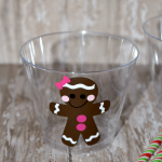 Silhouette Craft Idea: Gingerbread Pudding Cups Tutorial