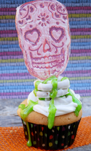SKULL CANDY CUPCAKES