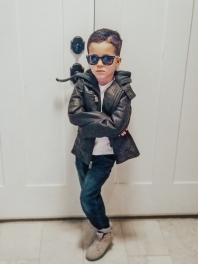 Mama of Both Worlds: February Favorites Urban Boys Leather Jacket