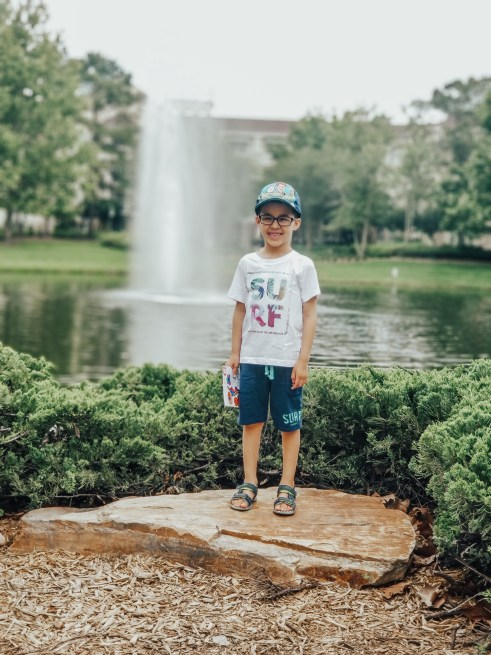 Mama of Both Worlds: Disney's Saratoga Springs Beautiful Grounds