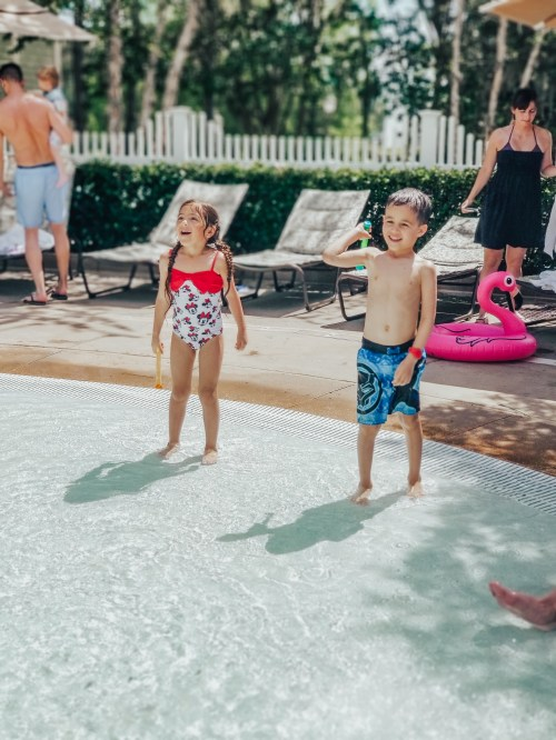 Mama of Both Worlds: Disney's Saratoga Springs Paddock Pool Review