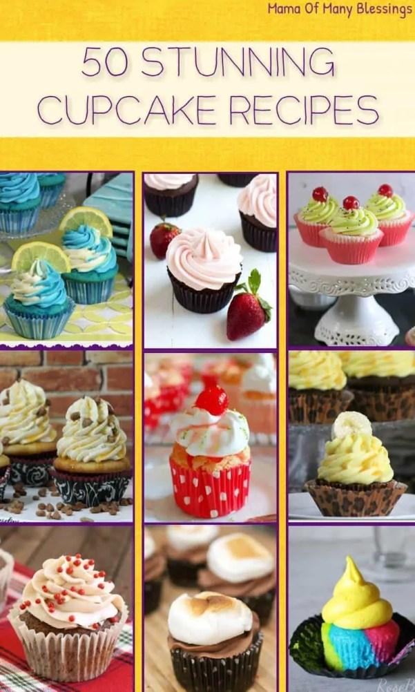 50 Stunning Cupcake Recipes