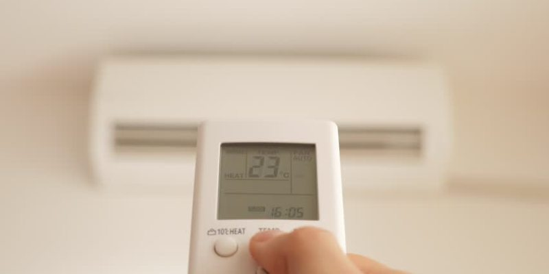 klima uredjaj u sobi za bebe