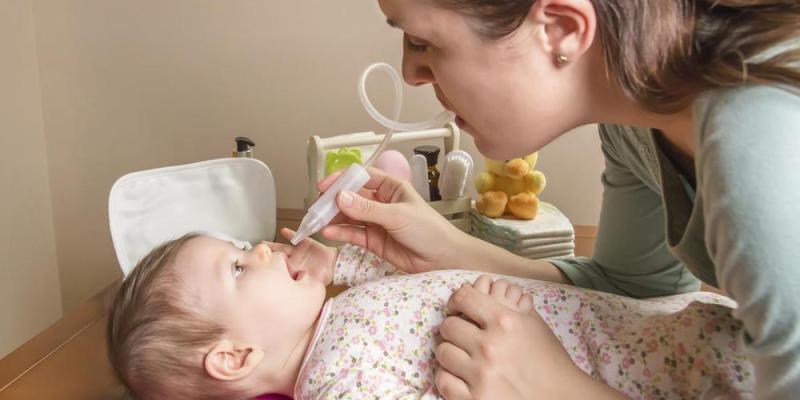 ciscenje bebinog nosa aspirator