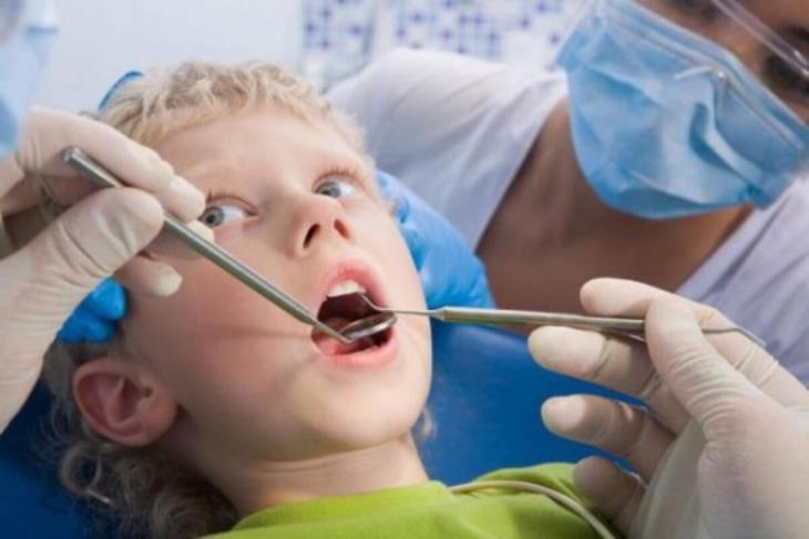 Mlijecni zubi pregled