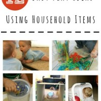 12 Baby Play Ideas Using Household Items