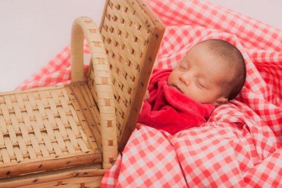 クーファン赤ちゃん