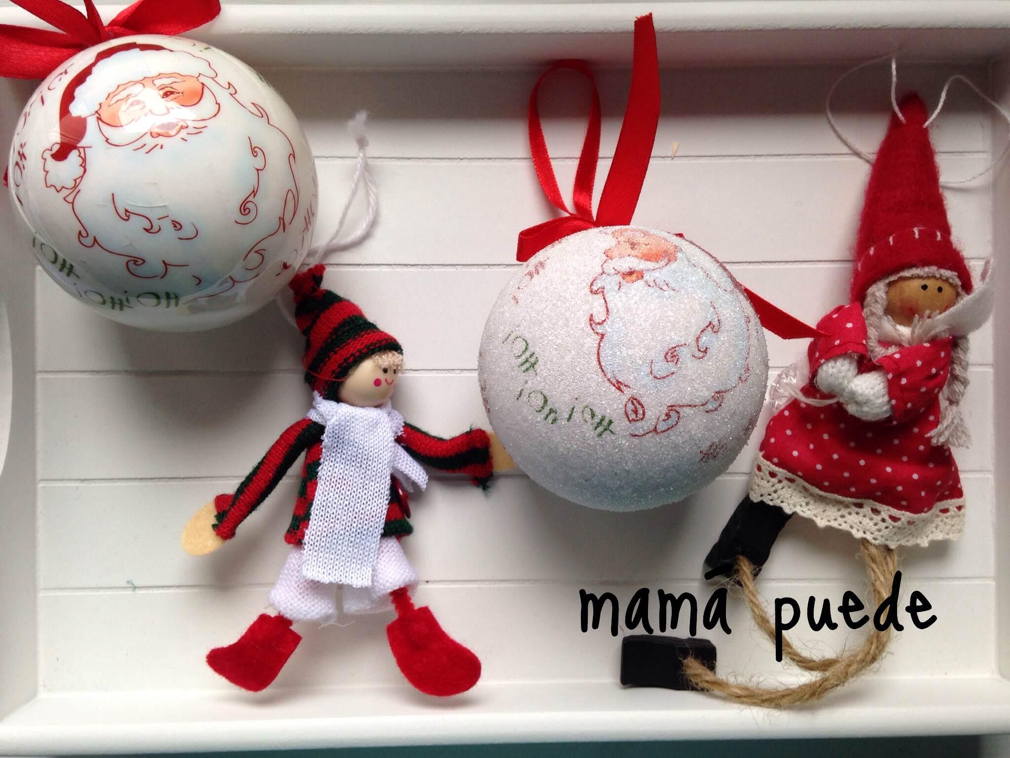 Los adornos del rbol de navidad mam puede - Los adornos navidenos ...