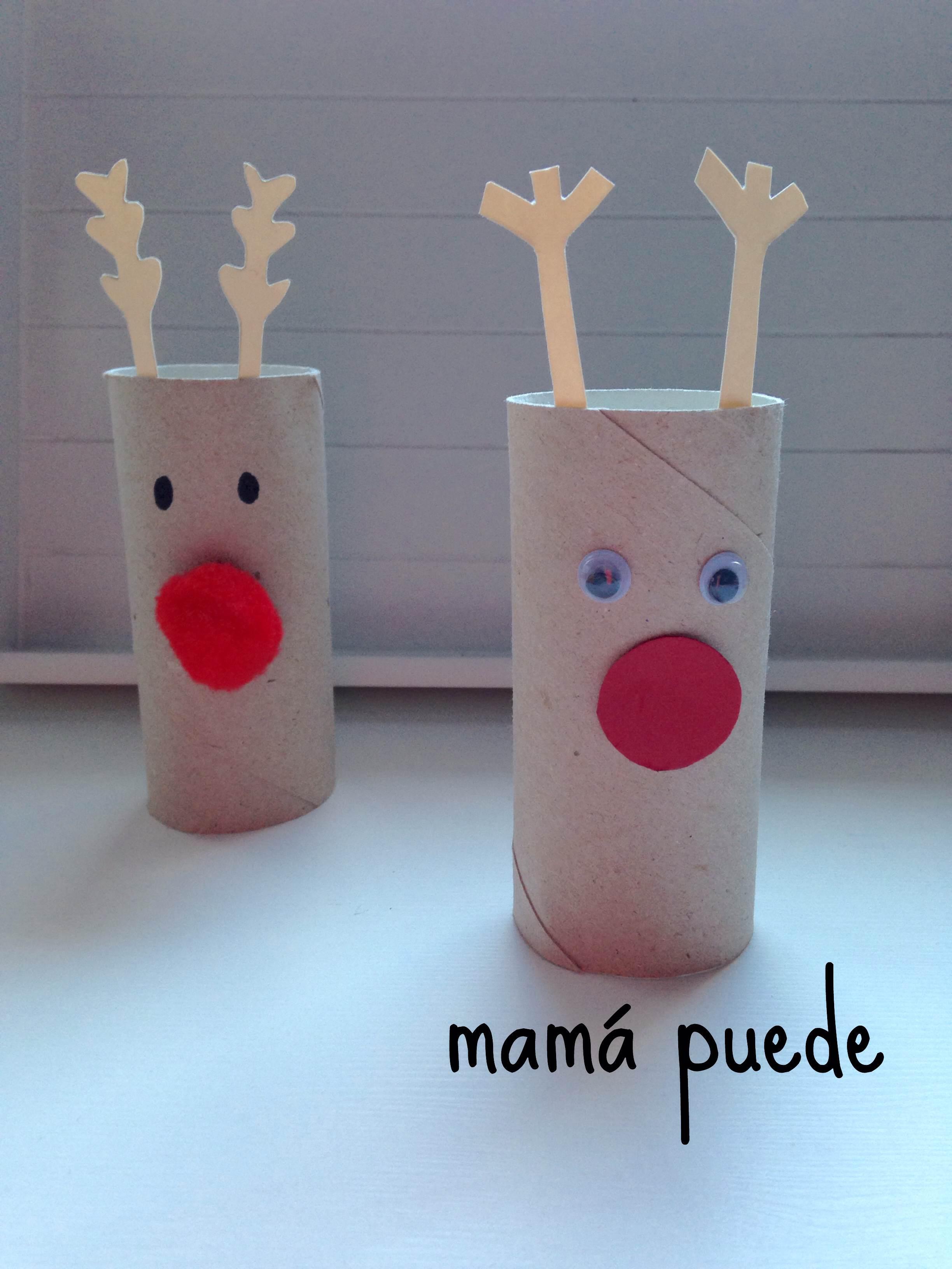 Manualidades f ciles de navidad mam puede - Manualidades en casa faciles ...