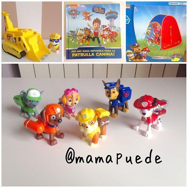 juguetes patrulla canina
