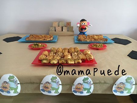 merienda fiesta de mr potato