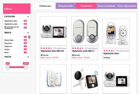 ejemplo de presentación de productos de consubebe