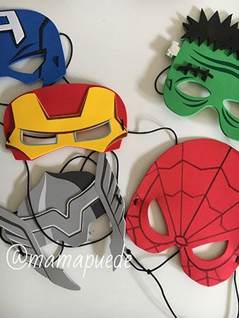 máscara de spiderman