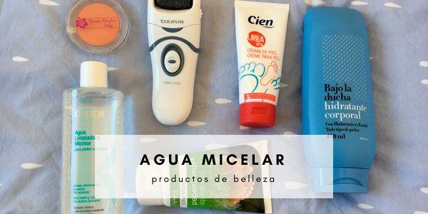 Agua micelar de deliplus y más productos