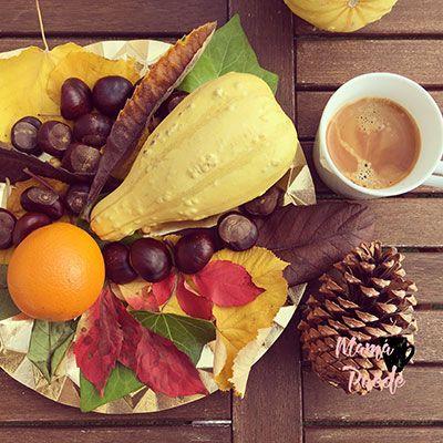 centro de mesa para el otoño