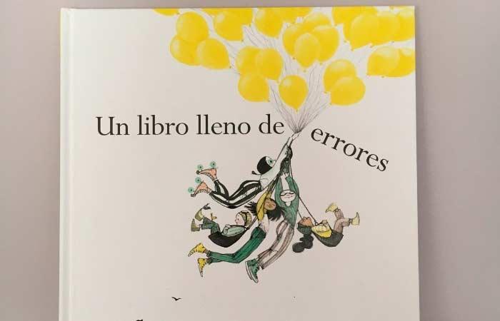 un libro lleno de errores