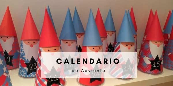 Un Calendario de Adviento muy fácil de hacer