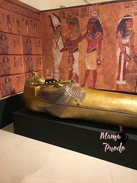 exposición tutankamon en valladolid