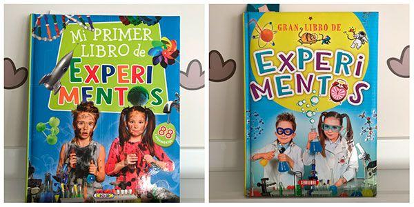 libros de experimentos para niños