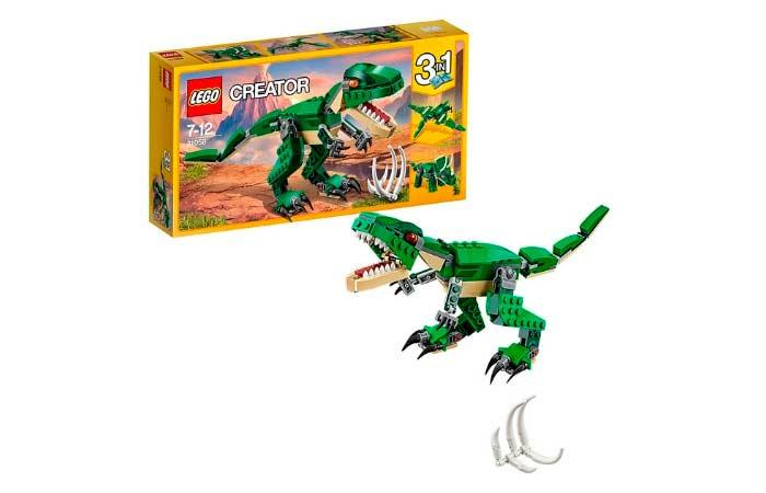 lego creator de dinosaurios