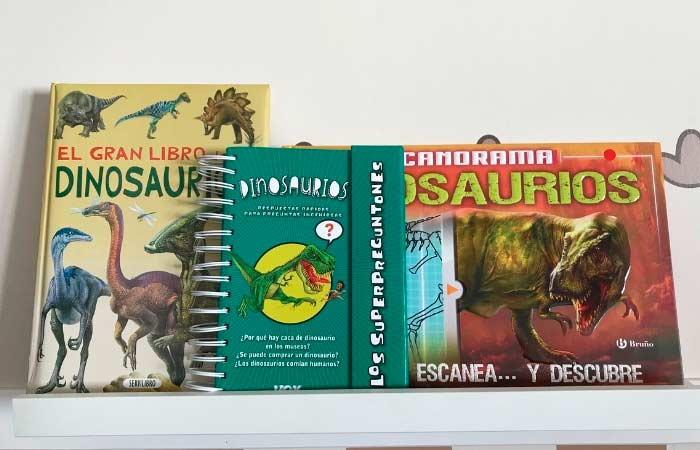 libros sobre dinosaurios