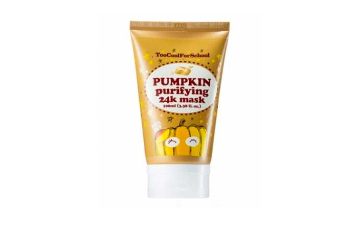 mascarilla pumpkin purifying 24k