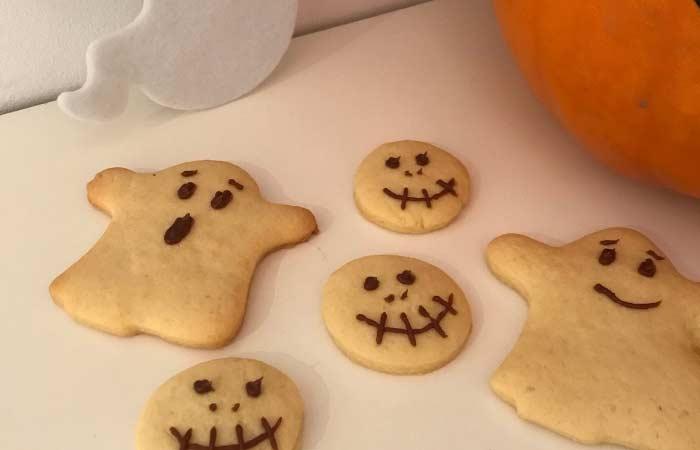 galletas fantasmas