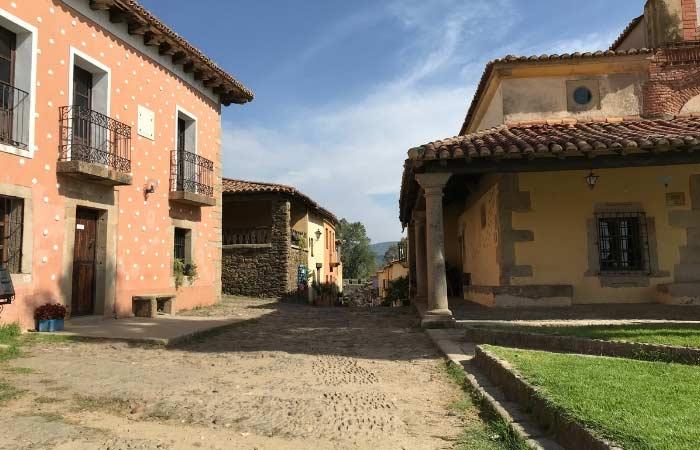 Granadilla pueblos restaurados