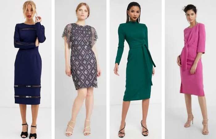 ideas de vestidos para invitadas