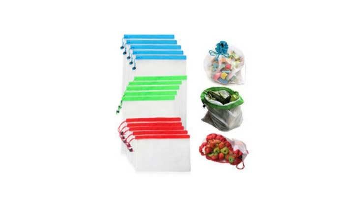 bolsas reutilizables fruta