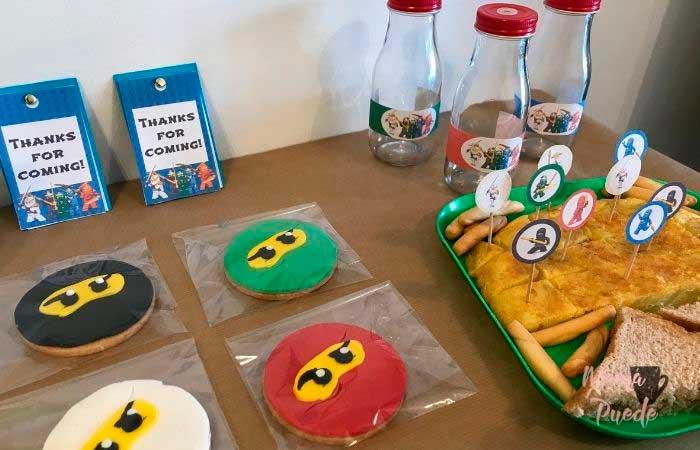 galletas de ninjago