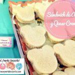Sandwich de atún y queso crema