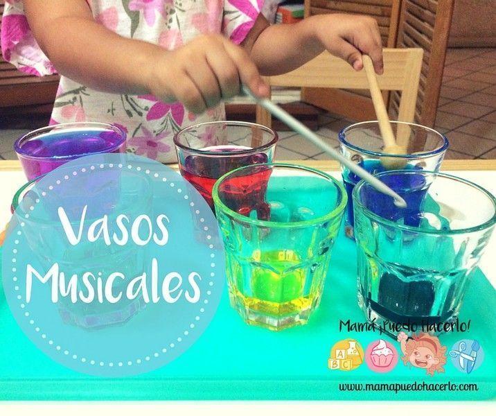 Vasos Musicales , Xilofono Casero