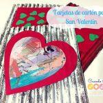 Tarjetas de Cartón Para San Valentín