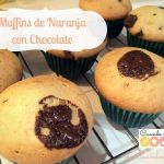 Muffins de Naranja con Chocolate