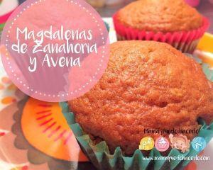Magdalenas de Zanahoria y Avena