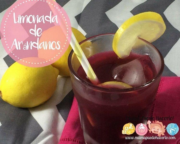 Limonada de arándanos