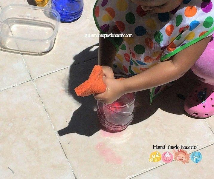 Trasvase de Agua de Colores