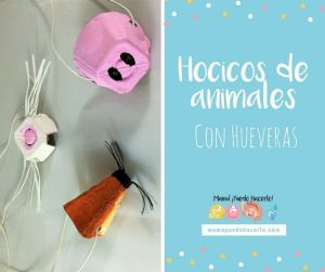 hocicos de animales con huevera