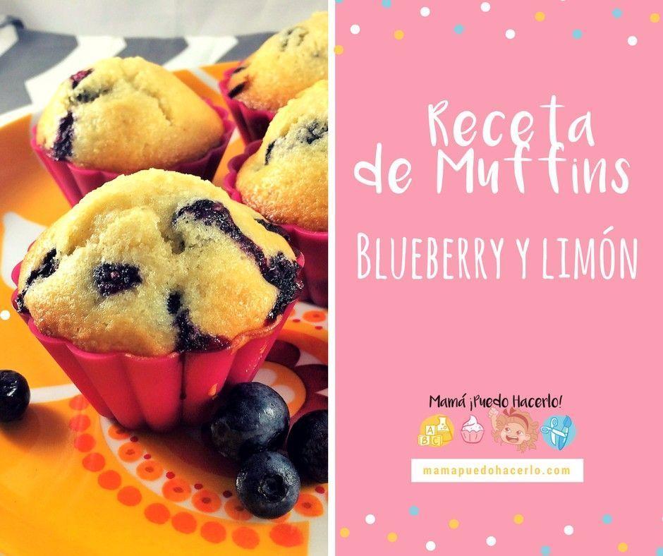 Muffins de Blueberry y Limón