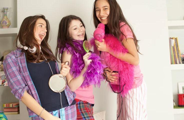 fiesta de pijama