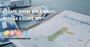 escape room para niños