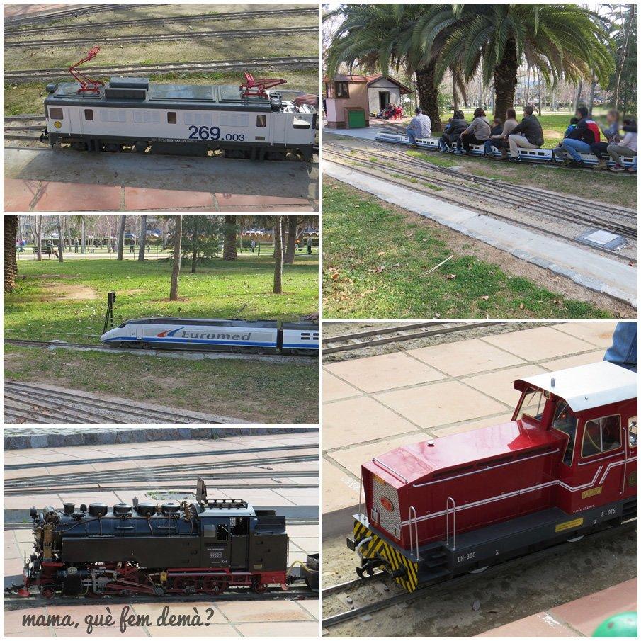 tren del Parc de Can Mercader