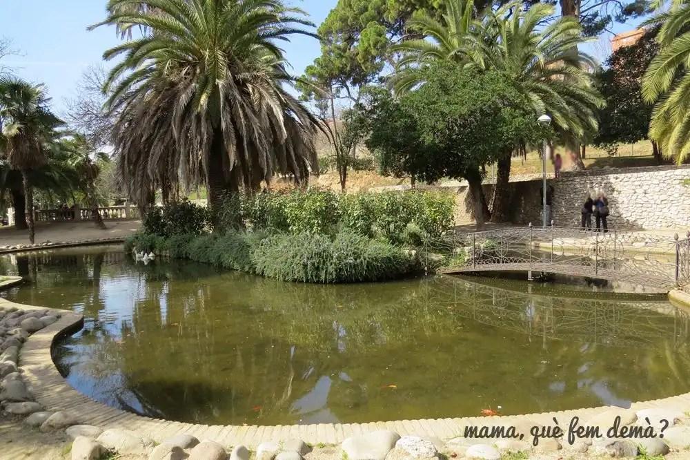 lago del Parc de Can Mercader