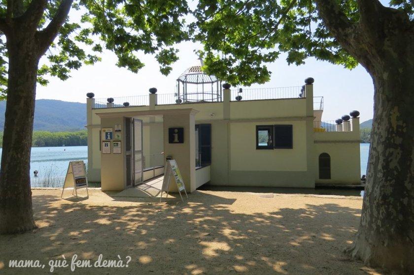 edificio de la oficina de turismo de Banyoles