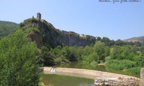 Excursión con niños en Castellfollit de la Roca