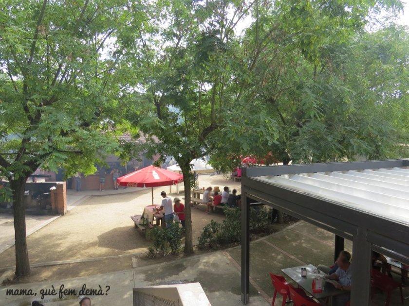 Barbacoas y restaurante en Can Coll