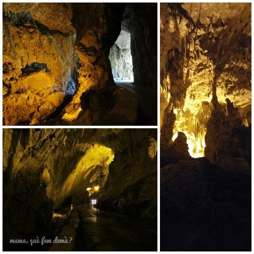 interior de la cuevona de cuevas del agua