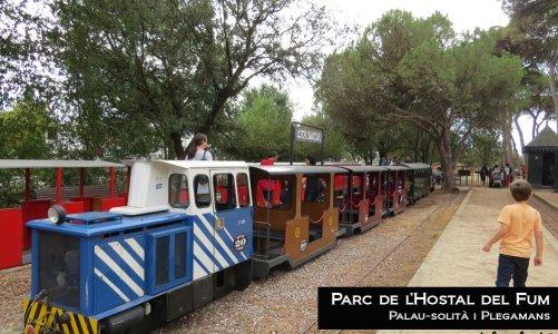 El Tren de Palau del Parc de l'Hostal del Fum